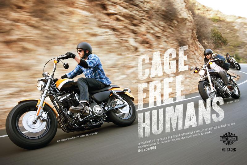 Rebel Brand Archetype - Harley Davidson